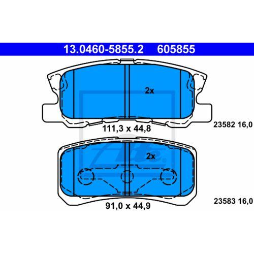 Bremsbelagsatz-Scheibenbremse-13-0460-5855-2