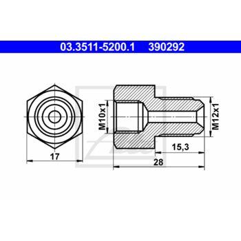 Adapter-Bremsleitung --