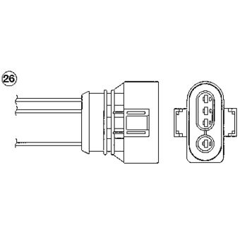 Lambdasonde -- NGK, AUDI, A4 (8D2, B5), Avant (8D5,...