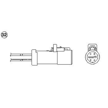 Lambdasonde -- NGK, MAZDA, CX-9 (TB), Anzahl der Leitungen: 4...
