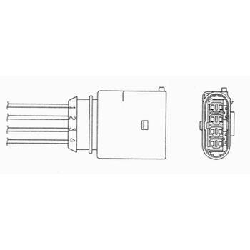 Lambdasonde -- NGK, AUDI, VW, SKODA, A4 (8D2, B5), PASSAT Variant...