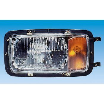 Hauptscheinwerfer -- BOSCH, Lampenkolbenform: H4, Lampenkolbenform: T4W...