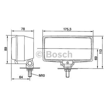 Nebelscheinwerfer -- BOSCH, Durchmesser [mm]: 175, Breite [mm]: 89...