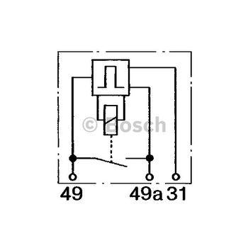 Blinkgeber -- BOSCH, Betriebsart: EL