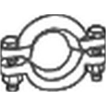 Klemmstück, Abgasanlage -- BOSAL, AUDI, 80 (8C, B4), Avant, 100 (44,...