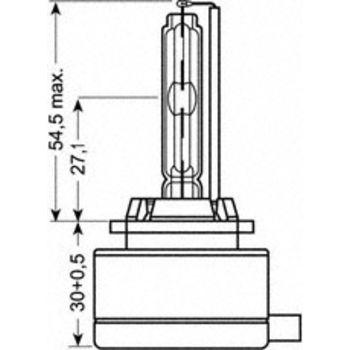Glühlampe, Fernscheinwerfer XENARC ORIGINAL -- OSRAM, VW, OPEL, ...