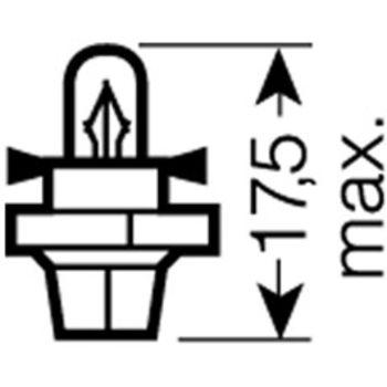 Glühlampe, Instrumentenbeleuchtung ORIGINAL -- OSRAM