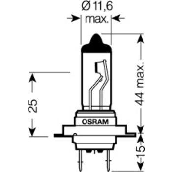 Glühlampe, Fernscheinwerfer ORIGINAL -- OSRAM, Lampenart: 5...