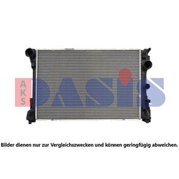Kühler, Motorkühlung -- AKS DASIS, MERCEDES-BENZ, E-KLASSE (W212), ...