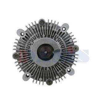 Kupplung, Kühlerlüfter -- AKS DASIS, Außendurchmesser [mm]: 148...