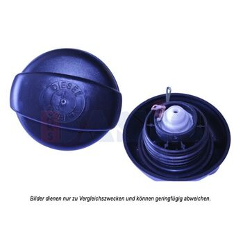 Verschluss, Kraftstoffbehälter -- AKS DASIS, Höhe [mm]: 76...