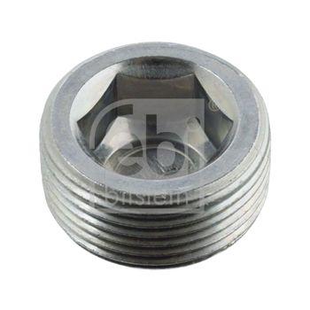 Verschlussschraube, Achsgetriebe -- FEBI, Länge [mm]: 12...