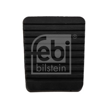Pedalbelag, Bremspedal -- FEBI, VW, TRANSPORTER III..., Länge [mm]: 64...