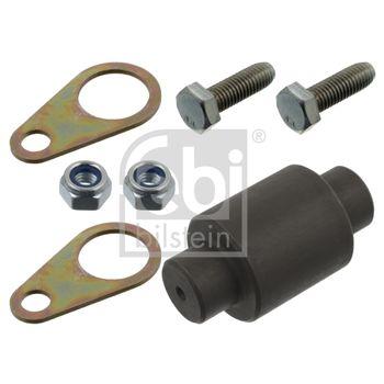 Reparatursatz, Bremsbackenrolle -- FEBI, Gewicht [kg]: 0,326