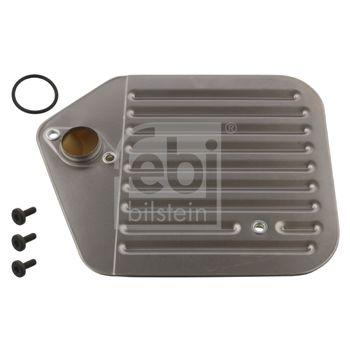 Hydraulikfiltersatz, Automatikgetriebe -- FEBI, BMW, 5 (E39), Touring,...