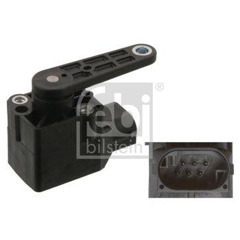 Sensor, Xenonlicht (Leuchtweiteregulierung) -- FEBI, Spannung [V]: 12...