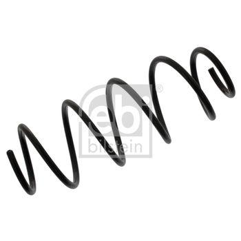 Fahrwerksfeder -- FEBI, CITROËN, C2 (JM_), Länge [mm]: 403...