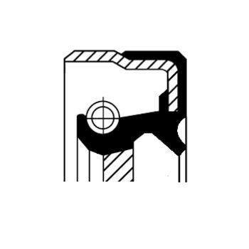 Wellendichtring, Automatikgetriebe -- CORTECO, AUDI, A4 Avant (8K5,...