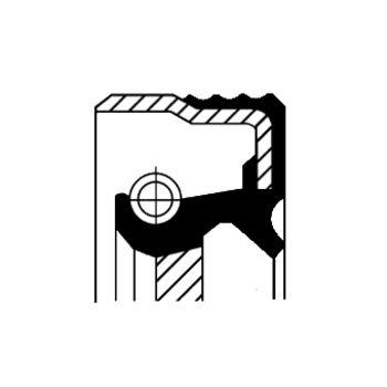 Wellendichtring, Zwischenwelle -- CORTECO, RENAULT, FIAT, TRAFIC...
