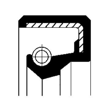 Wellendichtring, Automatikgetriebe -- CORTECO, MERCEDES-BENZ, SL...