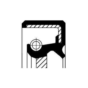 Wellendichtring, Tachoantrieb -- CORTECO, FORD, TRANSIT Bus (E_ _), ...