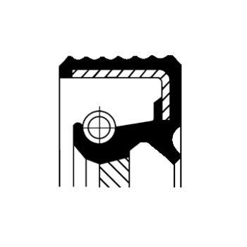 Wellendichtring, Automatikgetriebe -- CORTECO, BMW, 5 (E39), 3 (E46), ...