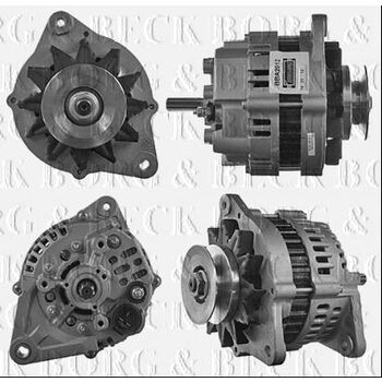 Generator -- BORG BECK, OPEL, VAUXHALL, ISUZU, CAMPO (TF_), MONTEREY...