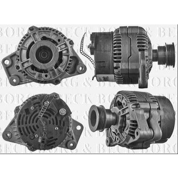 Generator -- BORG BECK, AUDI, 80 (8C, B4), Avant, CABRIOLET (8G7,, ...